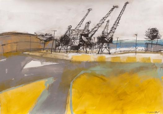 Dominique, Leith work, Dec 2016